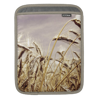 Wheat In The Wind Design Sleeve For iPads