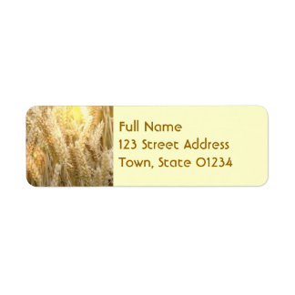Wheat Mailing Labels