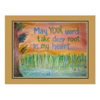 """Wheat Parable"" Postcard"