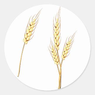Wheat Stickers
