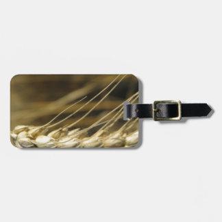 wheatear luggage tag