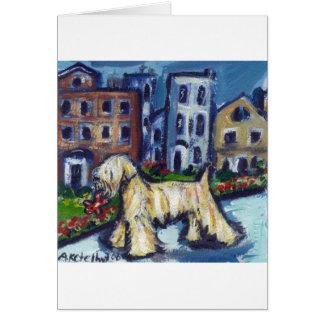 wheaten City Dog Card