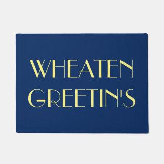 Wheaten Greetin's Doormat