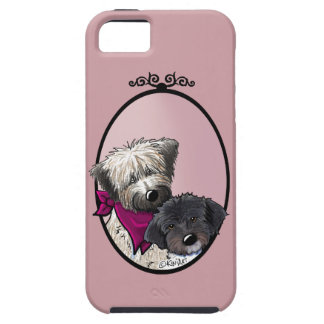 Wheaten & Havanese iPhone 5/5s Vibe Case