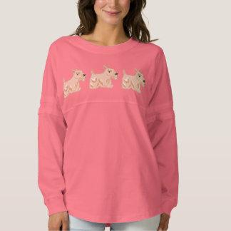 Wheaten Scottie Dogs Women's Spirit Jersey Shirt