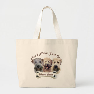 Wheaten Terrier Can't Have Just One Tote Bags