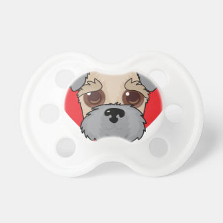 Wheaten Terrier Face Pacifier