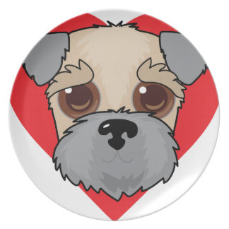 Wheaten Terrier Face Plate