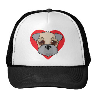 Wheaten Terrier Face Trucker Hat