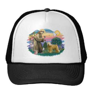 Wheaten  Terrier (standing) Trucker Hat