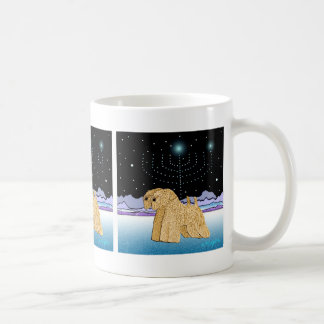 """Wheaten Terriers at Chanukah"" Coffee Mug"