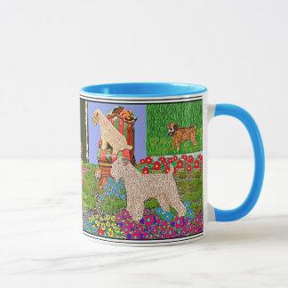 Wheaten Terriers at Home Mug