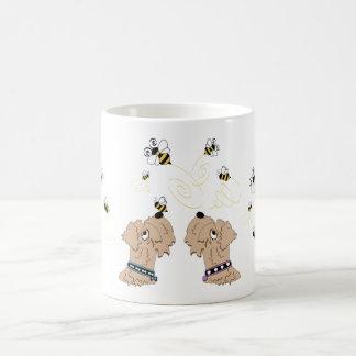 Wheatens and Bees Coffee Mug
