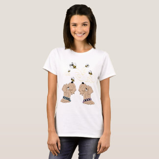 Wheatens and Bees T-Shirt