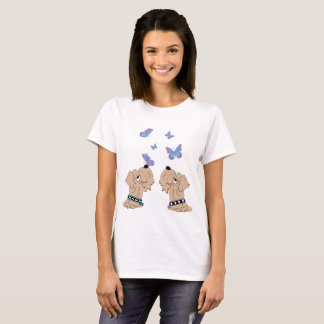 Wheatens and Butterflies T-Shirt