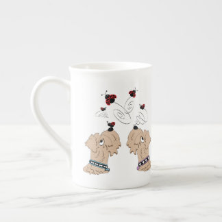 Wheatens and Ladybirds Tea Cup