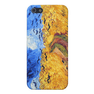 Wheatfield with Crows, Van Gogh Case For iPhone 5