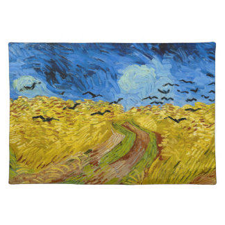 Wheatfield with crows - Vincent van Gogh (1890) Placemat