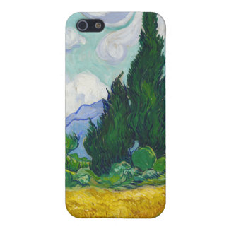 Wheatfield with Cypresses, Vincent Van Gogh iPhone 5 Cases