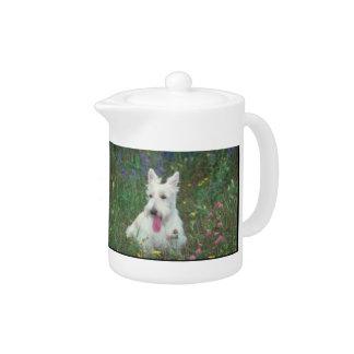 Wheaton Scottish Terrier Teapot