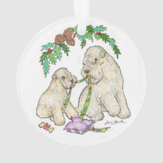 Wheaton Terrier Christmas Ornament