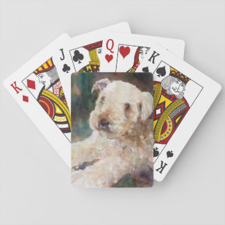 Wheaton Terrier Playing Cards