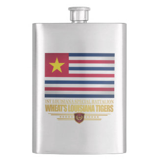 Wheat's Louisiana Tigers Hip Flask