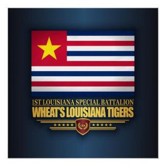 Wheat's Louisiana Tigers Perfect Poster