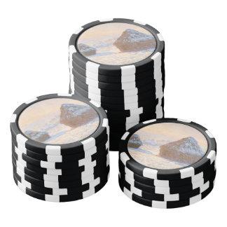 Wheatstacks, Snow Effect, Morning Poker Chips
