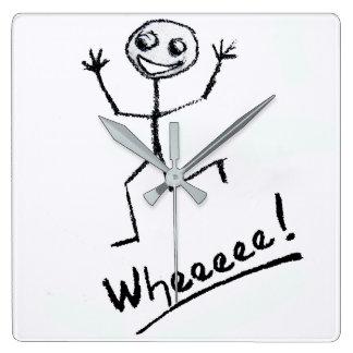 Wheeeee! Clock