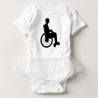 Wheel Chair Baby Bodysuit