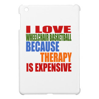 Wheel Chair Basketball Is My Therapy iPad Mini Covers