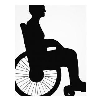 Wheel Chair Letterhead