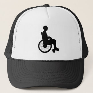 Wheel Chair Trucker Hat