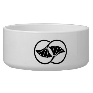 Wheel difference ginkgo dog bowls