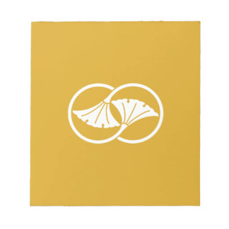 Wheel difference ginkgo notepad