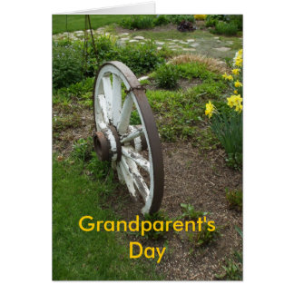Wheel Grandparent's Day-September+8th- Card