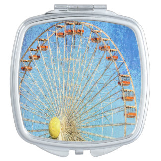 Wheel in the Sky Compact Mirror