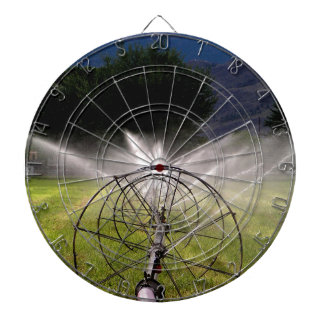 Wheel Line in Mountains of BC Canada Dartboards
