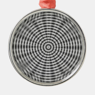 Wheel Motif 2 Metal Ornament