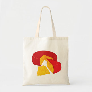Wheel Of Cheese Tote Bag