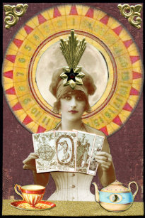 Gypsy Fortune Teller Invitations & Stationery | Zazzle CA