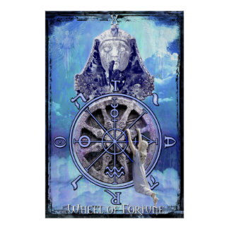 Wheel of Fortune Tarot Print