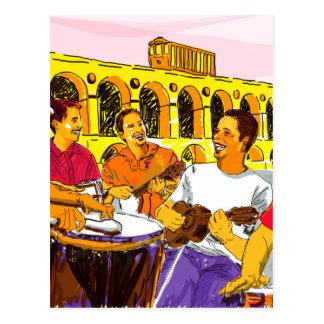 Wheel of Samba - Rio De Janeiro - Brazil Postcard