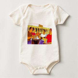 Wheel of SambaFIM - Rio De Janeiro - Brazil Baby Bodysuit