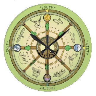 Wheel of the Year Clock