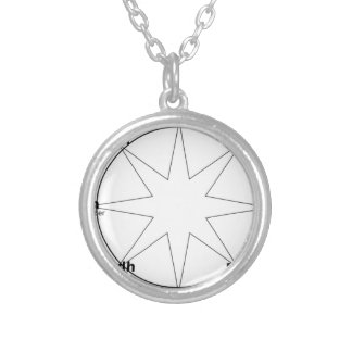 Wheel_of_the_Year Silver Plated Necklace