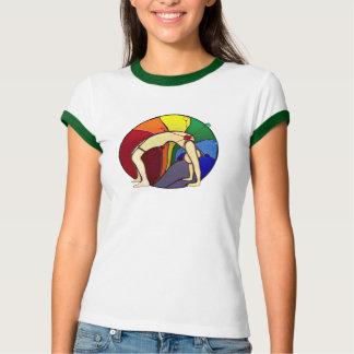 Wheel Pose T Shirt