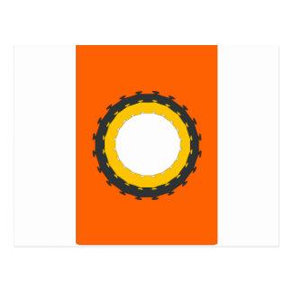 Wheel Postcard