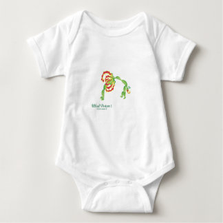 (Wheel Posture I) Baby Jersey Bodysuit